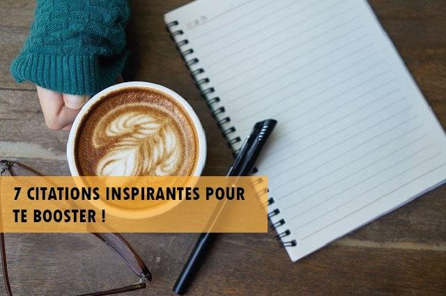 Citations inspirantes et motivantes matin