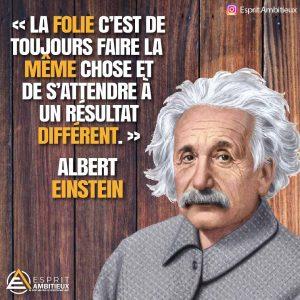 Meilleur citation Einstein - Citation insta matin
