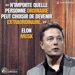 Meilleur citation inspirante Elon Musk